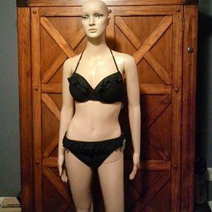 NWT Kate Spade Black Bikini